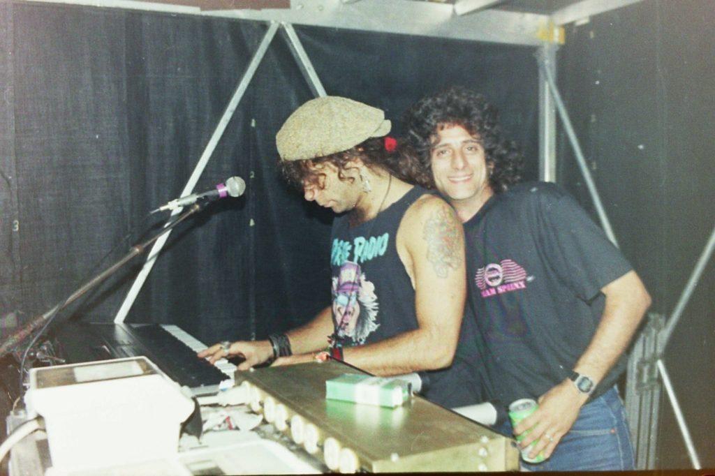 Kiss Condo on Hot in the Shade Tour - Gary Corbett Kiss Keyboardist
