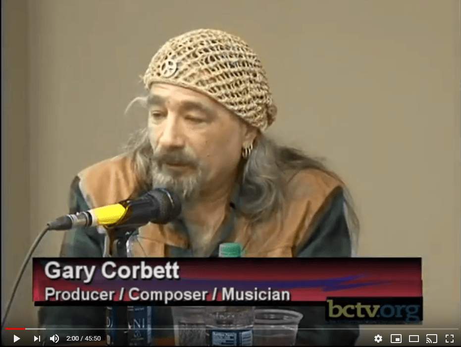 Music producer/composer/keyboardist Gary Corbett discusses the music industry 4-8-16