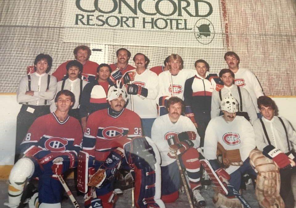 Montreal Canadians Hockey Team